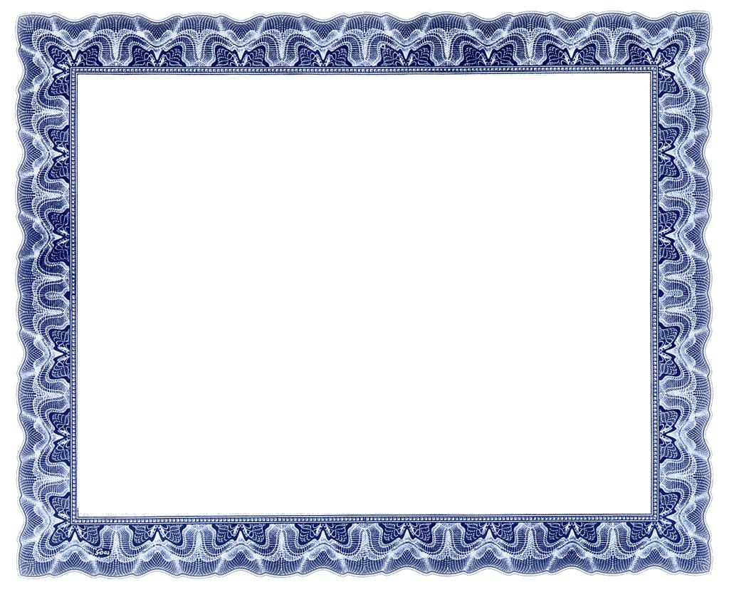 Free Printable Certificate Border Templates 10