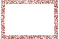 Free Printable Certificate Border Templates 6