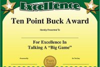 Free Printable Funny Certificate Templates 3