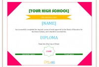 Free School Certificate Templates 7