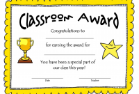 Free School Certificate Templates 8