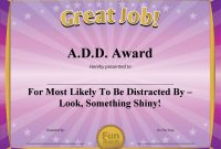Funny Certificate Templates 3
