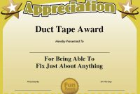 Funny Certificate Templates 4