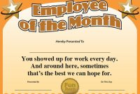Funny Certificate Templates 6