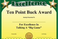 Funny Certificate Templates 7