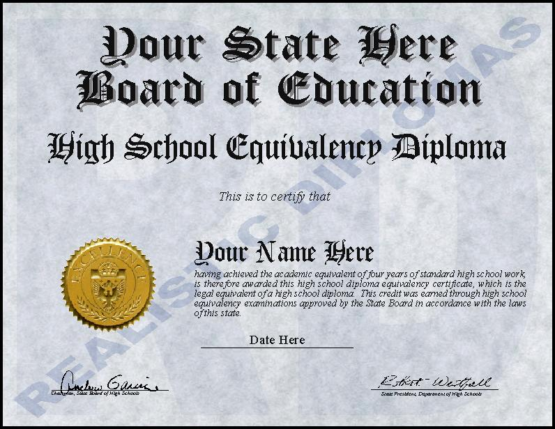 Ged Certificate Template Download 3