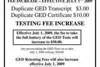 Ged Certificate Template Download 5
