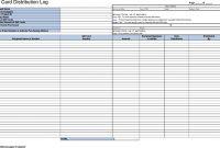 Gift Certificate Log Template 8
