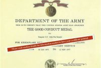 Good Conduct Certificate Template 10