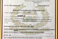 Good Conduct Certificate Template 5