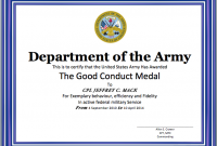 Good Conduct Certificate Template 7
