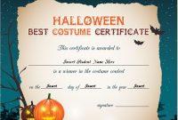 Halloween Certificate Template 13