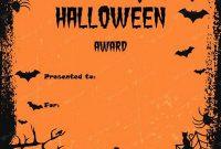 Halloween Certificate Template 5