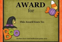Halloween Certificate Template 7