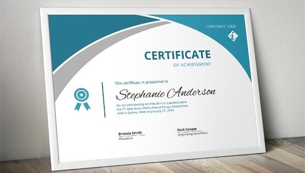 Iq Certificate Template 6