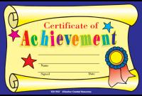 Kids Award Certificate Template 4