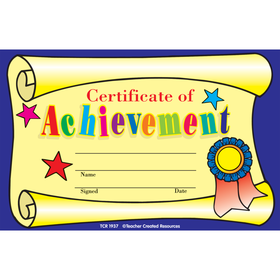 Kids Award Certificate Template 4