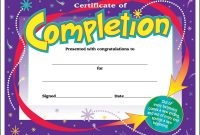 Kids Award Certificate Template 6
