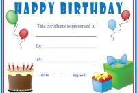 Kids Gift Certificate Template 5