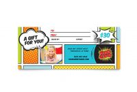 Kids Gift Certificate Template 7