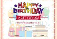 Kids Gift Certificate Template 8