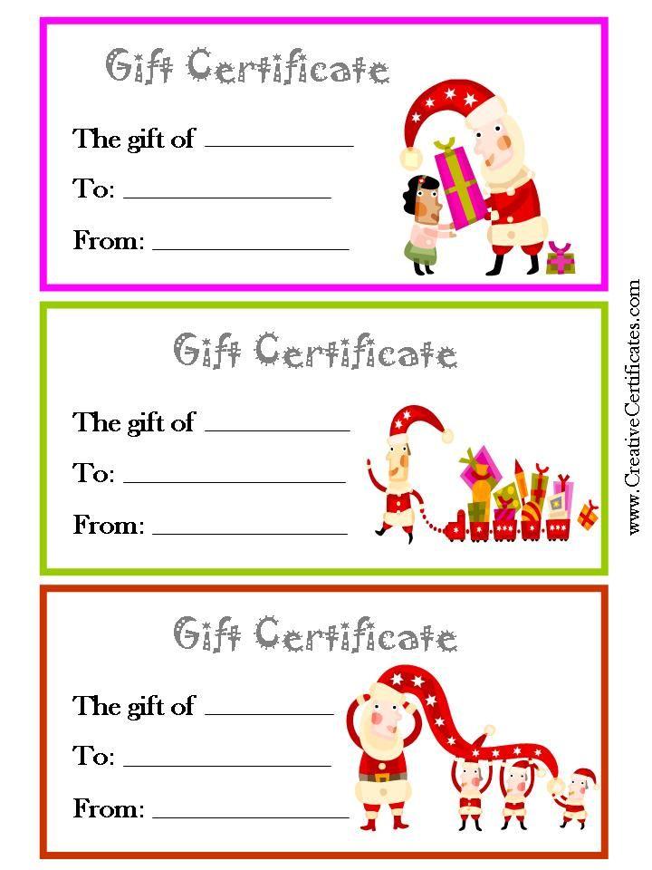 Kids Gift Certificate Template 9