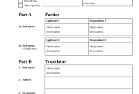 Mexican Marriage Certificate Translation Template 3