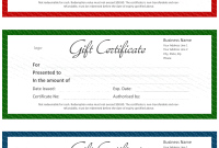 Microsoft Gift Certificate Template Free Word7