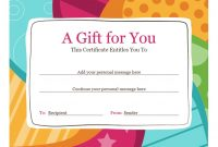 Microsoft Gift Certificate Template Free Word8