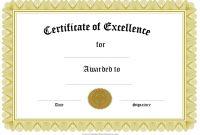 Microsoft Word Award Certificate Template 9
