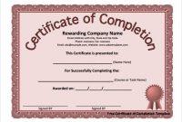 Microsoft Word Certificate Templates 1