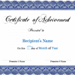 Microsoft Word Certificate Templates