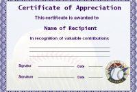 Microsoft Word Certificate Templates 5
