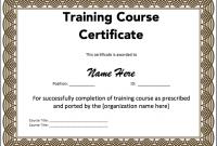Microsoft Word Certificate Templates 7