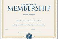 New Member Certificate Template 2