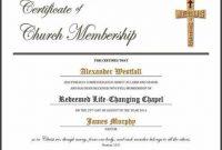 New Member Certificate Template 4