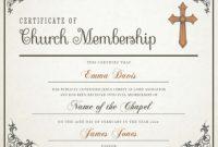 New Member Certificate Template 7