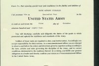 Officer Promotion Certificate Template0