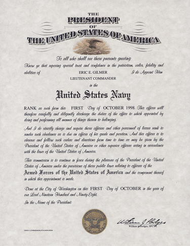 Officer Promotion Certificate Template3