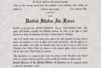 Officer Promotion Certificate Template9