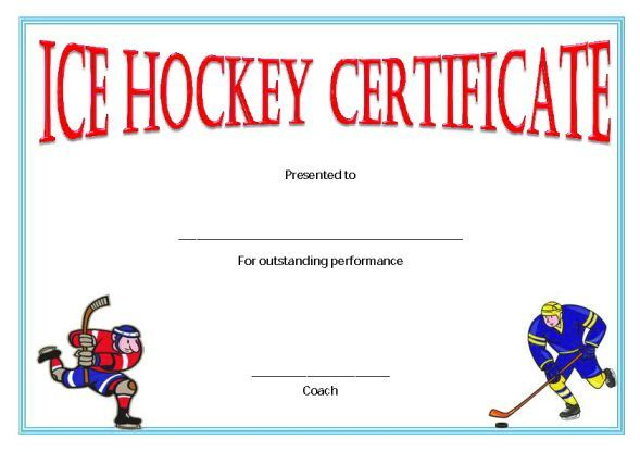 Player Of The Day Certificate Template 6