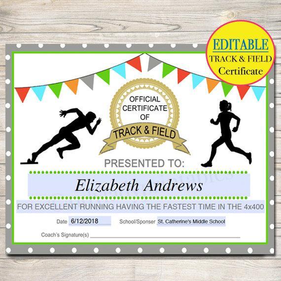 Running Certificates Templates Free 15