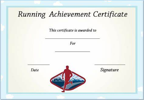 Running Certificates Templates Free 9