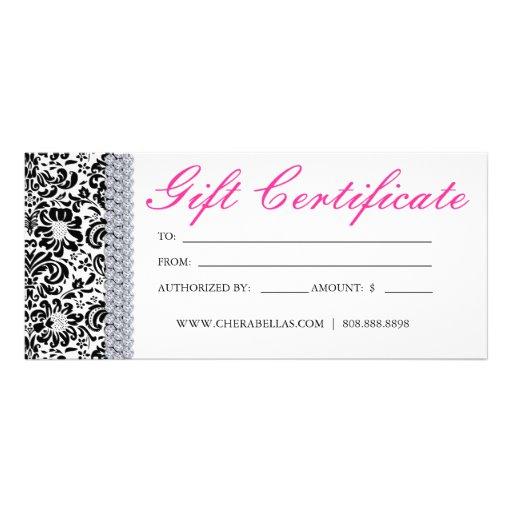 Salon Gift Certificate Template 8