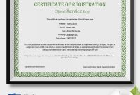 Service Dog Certificate Template 2