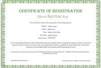 Service Dog Certificate Template 4