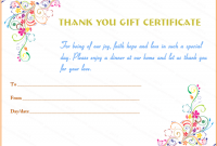 Small Certificate Template 12