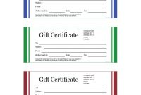 Small Certificate Template 2
