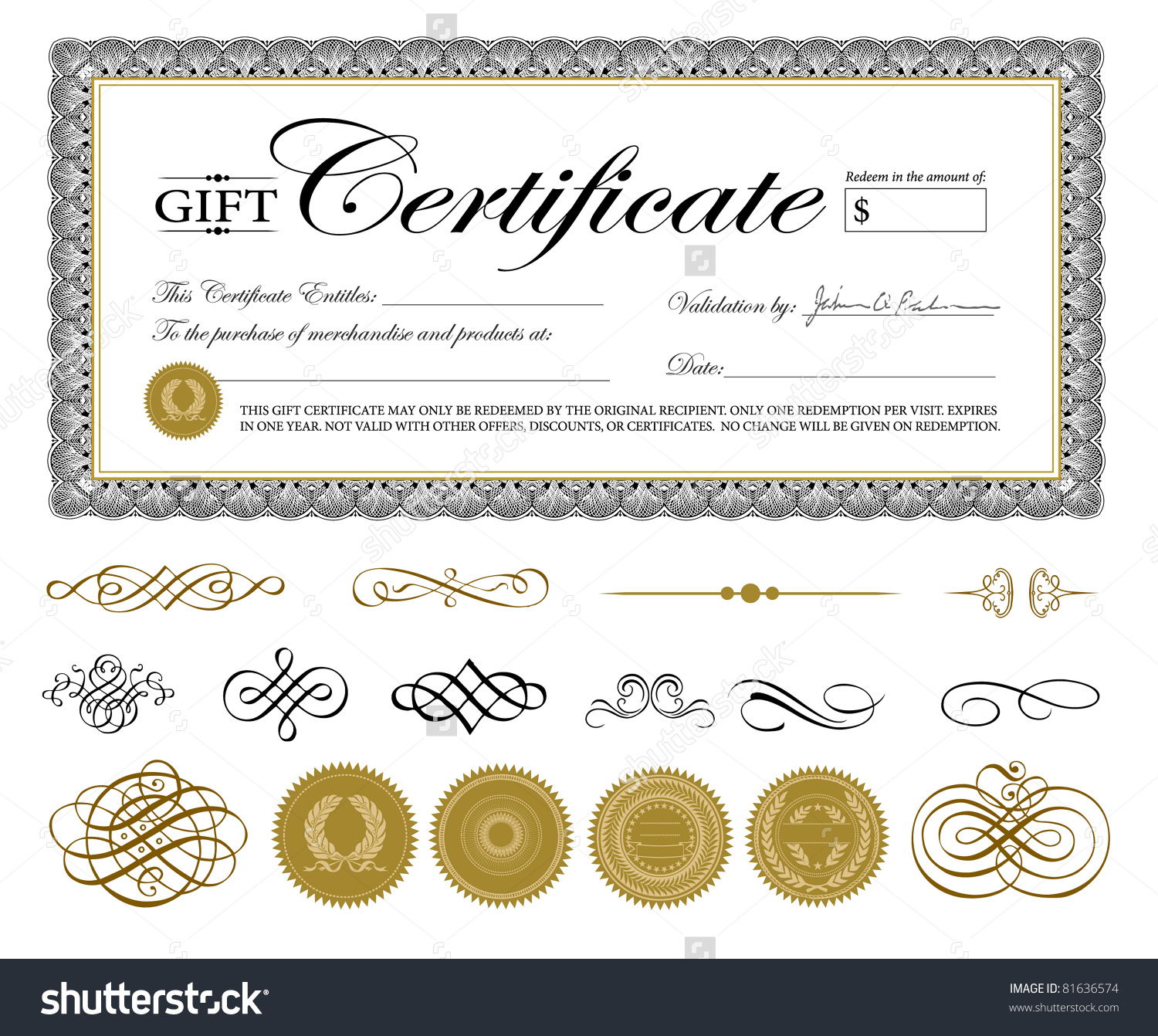 Small Certificate Template 3