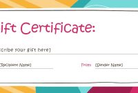 Small Certificate Template 7